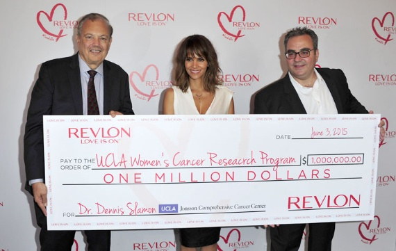 Revlon $1 Million check